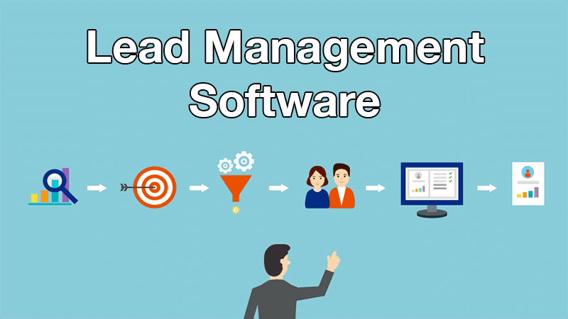 Lead management cycle with CRM